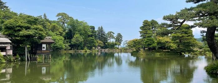 Kenrokuen Garden is one of สถานที่ที่ 高井 ถูกใจ.