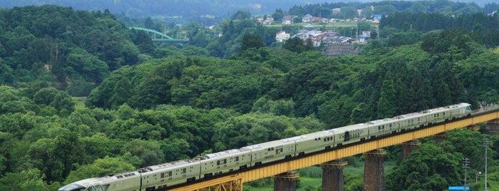 一ノ戸川橋梁 is one of Tempat yang Disukai 高井.