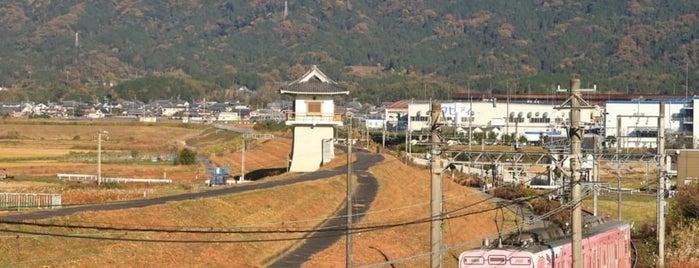 小田遊水地 is one of Tempat yang Disukai 高井.