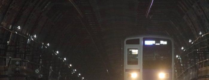 Shintomicho Station (Y20) is one of Lugares favoritos de 高井.
