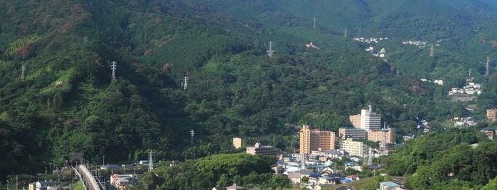 ホテル眺望山荘 is one of Lugares favoritos de 高井.