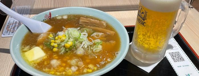 梅光軒 旭川空港店 is one of Tempat yang Disukai 高井.