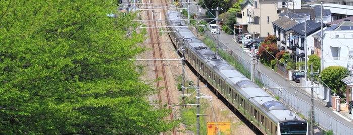 横浜線 寺尾トンネル is one of Posti che sono piaciuti a 高井.