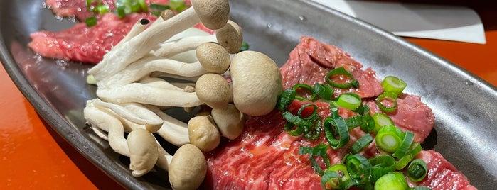 炭火焼肉いち is one of Posti che sono piaciuti a 高井.