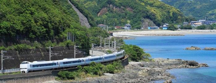 玉ノ浦俯瞰(鉄道撮影地) is one of Lugares favoritos de 高井.