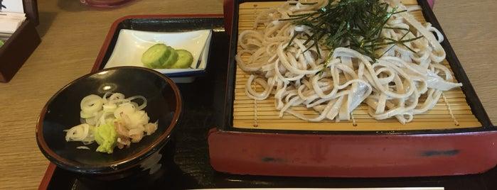 文吉そば もみの木 is one of Posti che sono piaciuti a 高井.