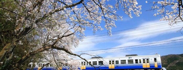 えちぜん鉄道 永平寺川橋梁 is one of Posti che sono piaciuti a 高井.