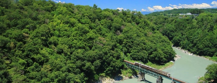 天龍峡大橋[そらさんぽ天龍峡] is one of 高井 님이 좋아한 장소.