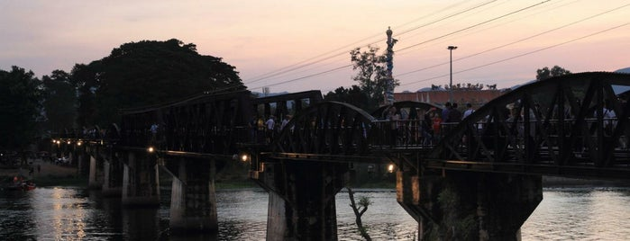 The Bridge of the River Kwai is one of Orte, die 高井 gefallen.