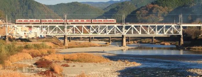 吉野大橋 is one of Tempat yang Disukai 高井.