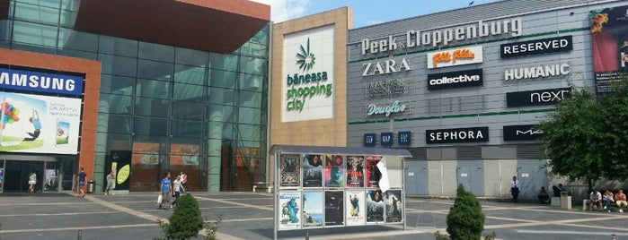 Băneasa Shopping City is one of Mekanlar.