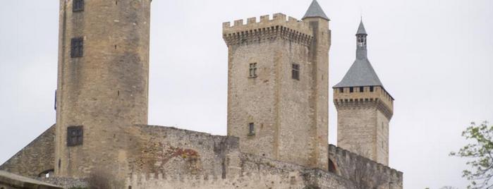 Château de Foix is one of Escenarios de la novela TIERRA SIN REY.