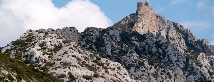 Château de Quéribus is one of Escenarios de la novela TIERRA SIN REY.