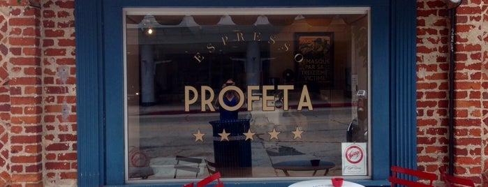 Espresso Profeta is one of Favorite Coffee Shops in LA.