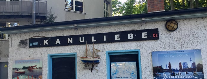 Kanuliebe is one of Berlin.