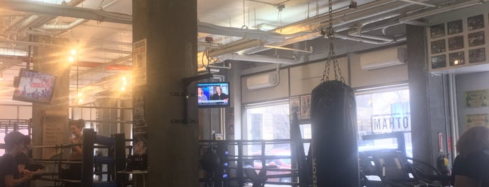 Gotham Gym is one of Andrew Parietti's Favorite Workout, Refuel Spots.