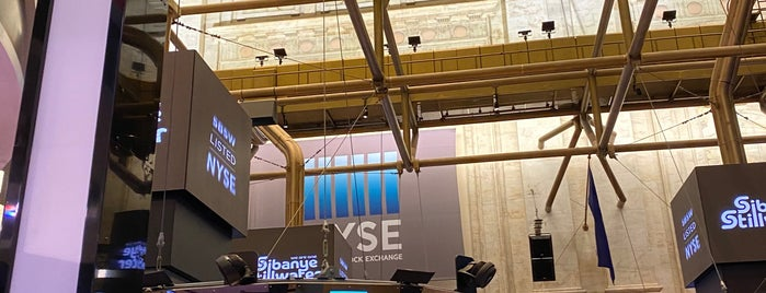 NYSE Trading Floor is one of President Obama.