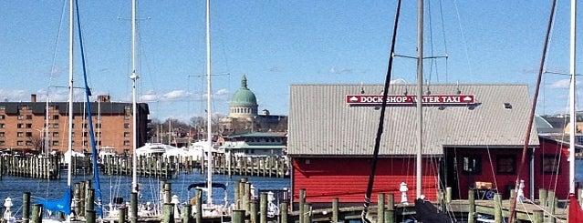 Annapolis City Marina is one of Posti che sono piaciuti a Burchin.
