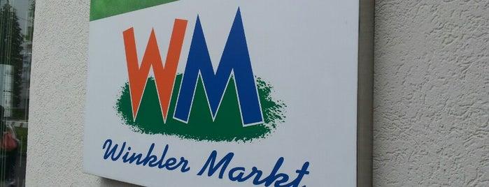 Winkler Markt is one of Maxi'nin Beğendiği Mekanlar.