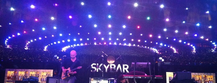 Skybar is one of Kiev night life.