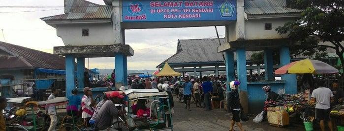 Pusat Pelelangan Ikan (PPI) Kota Kendari is one of Fεmmy ℳαηggo🎀 : понравившиеся места.