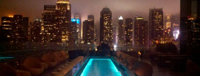 Rooftop lounges