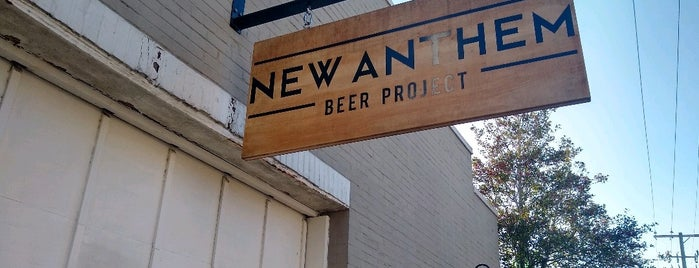 New Anthem Beer Project is one of NC YumYum NomNom.