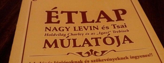 Nagy Levin is one of Ahol jó enni.