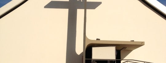 Igreja Rainha da Paz is one of สถานที่ที่ Fernando Viana ถูกใจ.