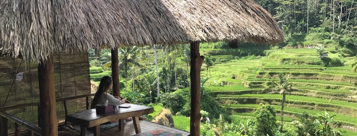 Carik Terrace Warung, Tegallalang, Ubud is one of Posti che sono piaciuti a MP.