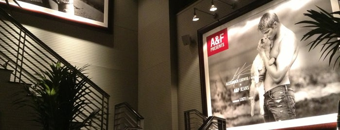 Abercrombie & Fitch is one of LAX.