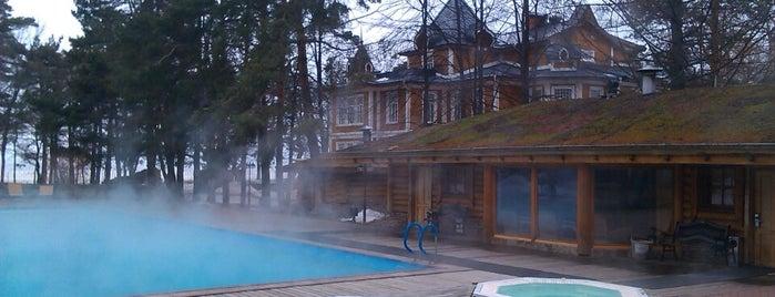 Загородный клуб «Скандинавия» is one of Locais curtidos por Тимур.