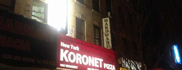 Koronet Pizza is one of Lieux sauvegardés par Leighann.