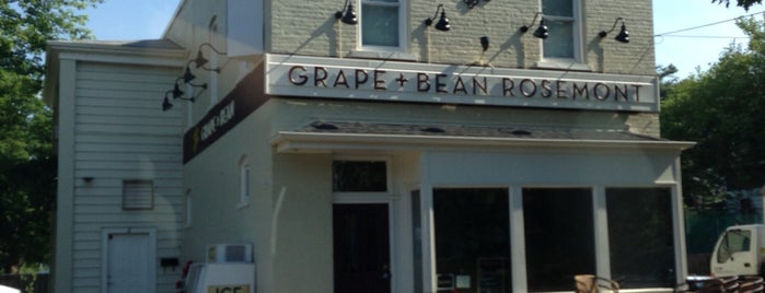 Grape & Bean Rosemont is one of Alexandria.
