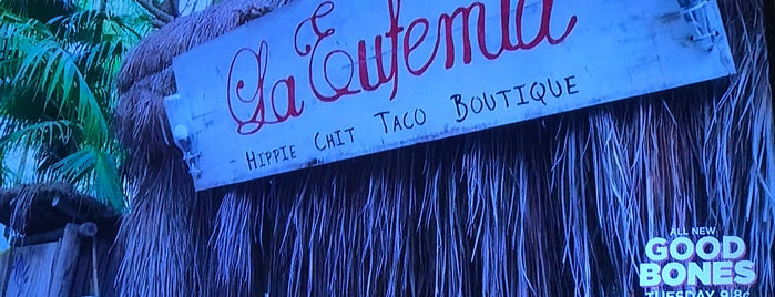 Taquería La Eufemia is one of tulum.