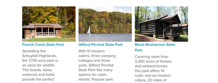 Black Moshannon State Park is one of SC - To Try.