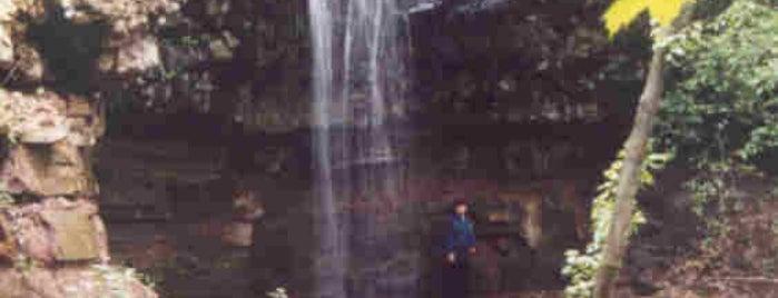 Bridal Veil Falls is one of NJ Waterfalls.