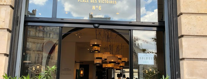 Maison Sarah Lavoine is one of Paris coffe/bakery.