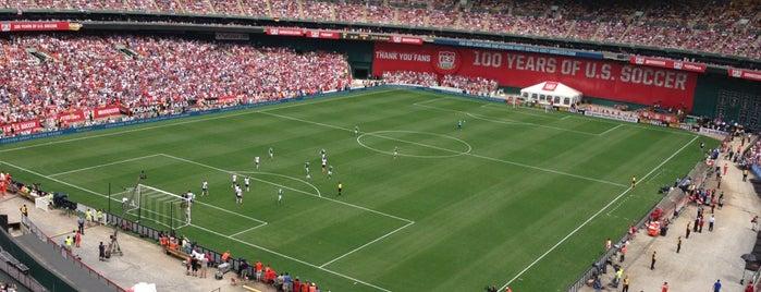 Estádio Robert F. Kennedy is one of Washington DC.