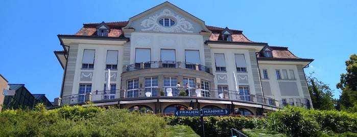 Restaurant Theater Casino Zug is one of Posti che sono piaciuti a AE.