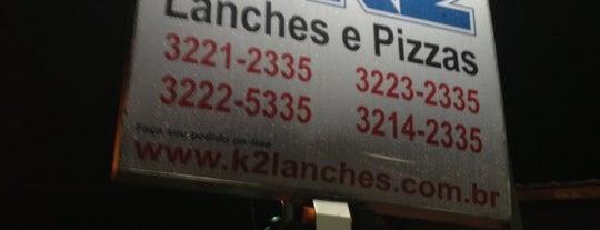 K2 Lanches is one of Lu'nun Beğendiği Mekanlar.