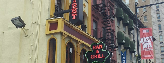 Bars showing UFC in NYC