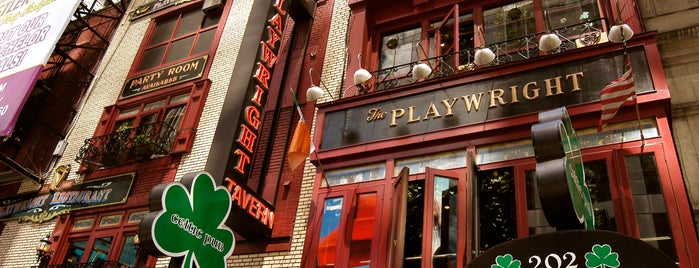 The Playwright Tavern is one of Favorite Nightlife Spots.