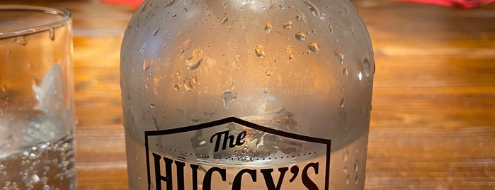 The Huggy's Bar is one of Belgium - Resto.