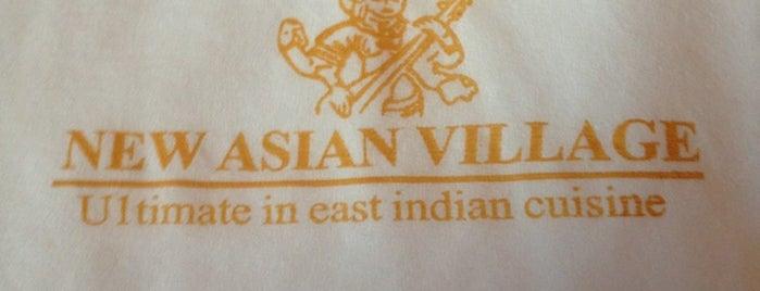 New Asian Village Sherwood Park is one of Tempat yang Disukai Lesley.