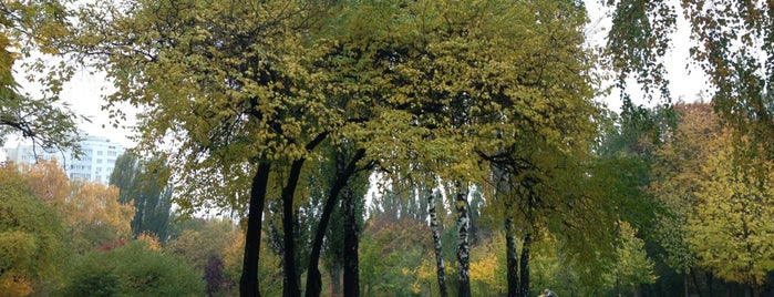 Парк на Теліги is one of Lieux qui ont plu à Kiril.