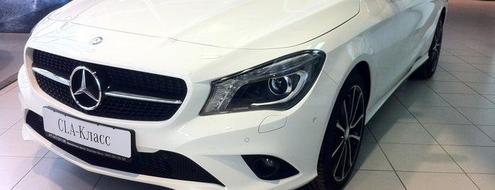 Mercedes Benz (Арт-Моторс) is one of Locais curtidos por Rinat.