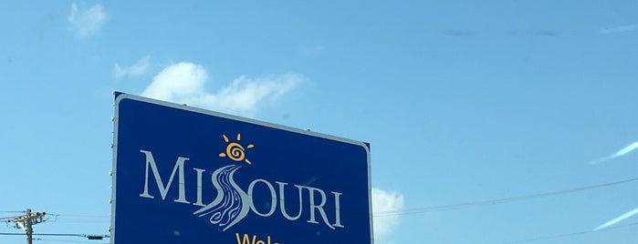 Illinois-Missouri Border is one of สถานที่ที่ Bart ถูกใจ.