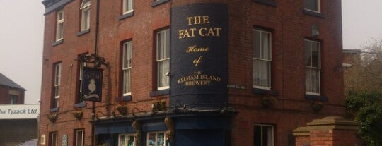 The Fat Cat is one of Lieux qui ont plu à Carl.