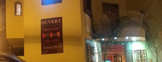 Entrecote Steak House, Sidi Yahia is one of Tempat yang Disukai Baris.